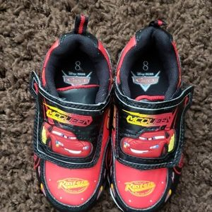 Boy's Disney Cars light up sneakers
